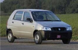 Maruti Alto wheels and tires specs icon