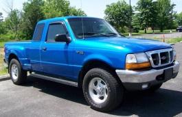 Ford Ranger II Facelift Pickup Extended Cab