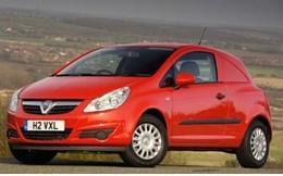 Vauxhall Corsavan wheels and tires specs icon