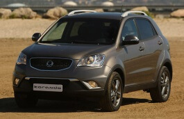 SsangYong Korando wheels and tires specs icon