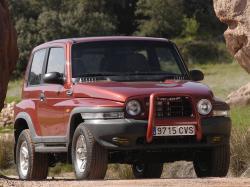 SsangYong Korando II Closed Off-Road Vehicle