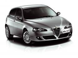 ícone de especificações de roda e pneus de Alfa Romeo 147