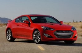 Hyundai Genesis Coupe wheels and tires specs icon