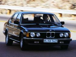 Автомобиль BMW 7 Series I (E23) , год выпуска 1977 - 1986