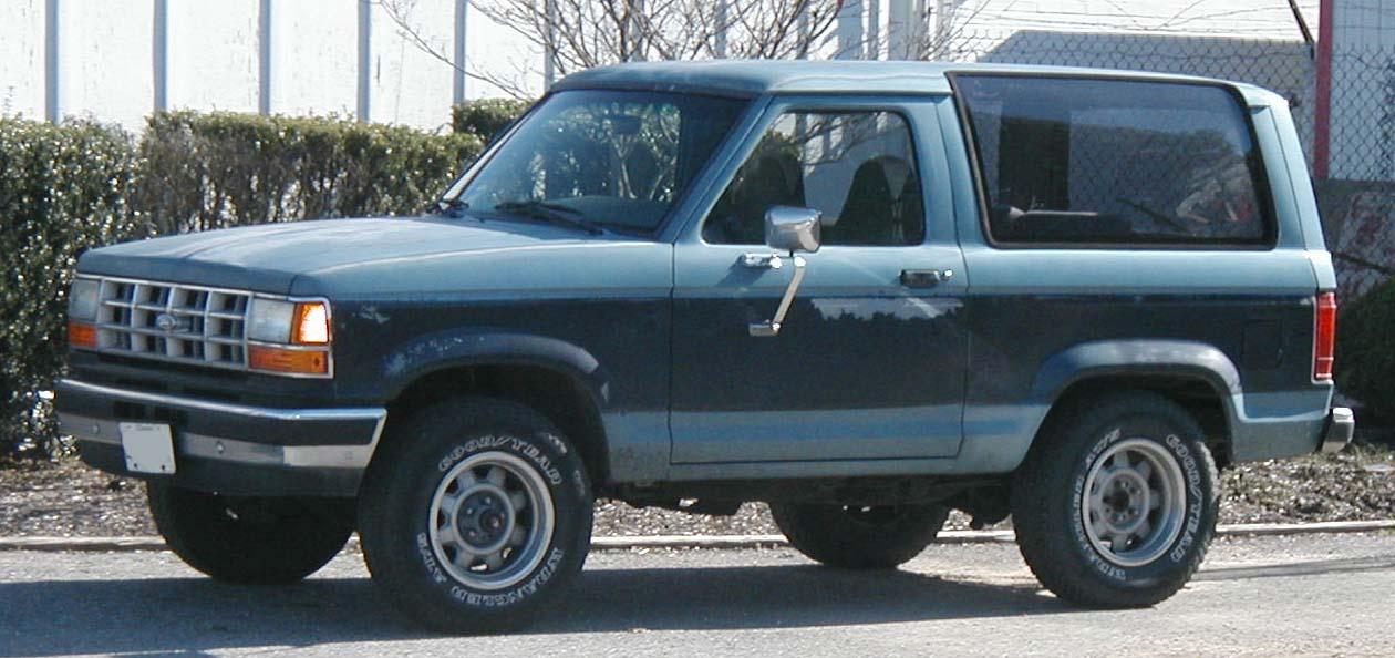 Ford Bronco II II Closed Off-Road Vehicle