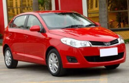 Chery A13 wheels and tires specs icon