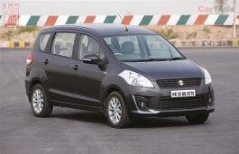Maruti Ertiga wheels and tires specs icon