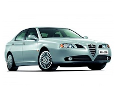 Alfa Romeo 166 Räder- und Reifenspezifikationensymbol