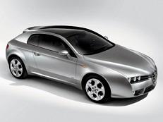 Alfa Romeo Brera Räder- und Reifenspezifikationensymbol