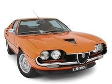 roues et icone de spécifications de pneus pour Alfa Romeo Montreal