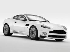 Aston Martin V12 Vanquish Räder- und Reifenspezifikationensymbol