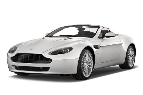 Aston Martin V8 Vantage Räder- und Reifenspezifikationensymbol