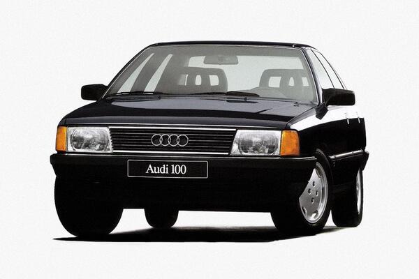 Audi 100 Räder- und Reifenspezifikationensymbol