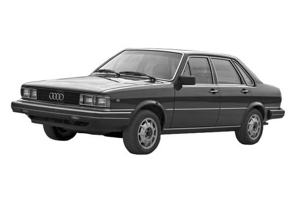 Audi 4000 wheels and tires specs icon