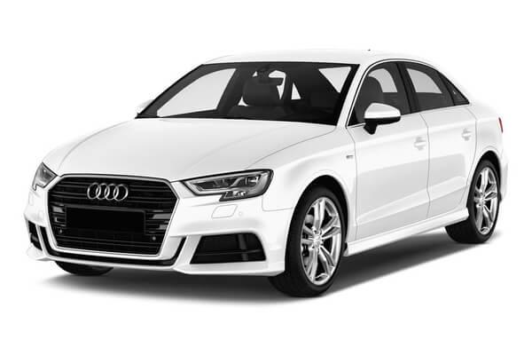 Audi A3 Räder- und Reifenspezifikationensymbol