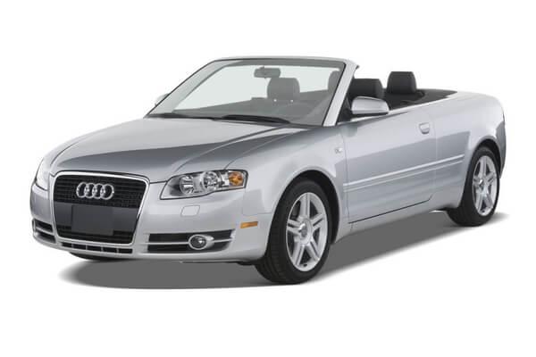 roues et icone de spécifications de pneus pour Audi A4