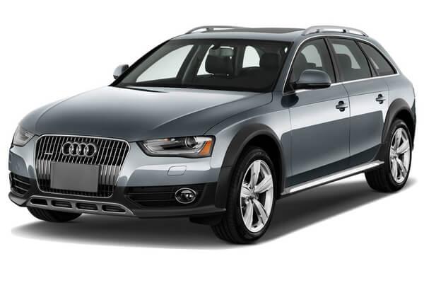 Audi A4 Allroad Räder- und Reifenspezifikationensymbol