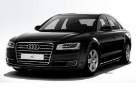 roues et icone de spécifications de pneus pour Audi A8