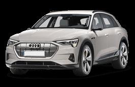 Audi e-tron Räder- und Reifenspezifikationensymbol