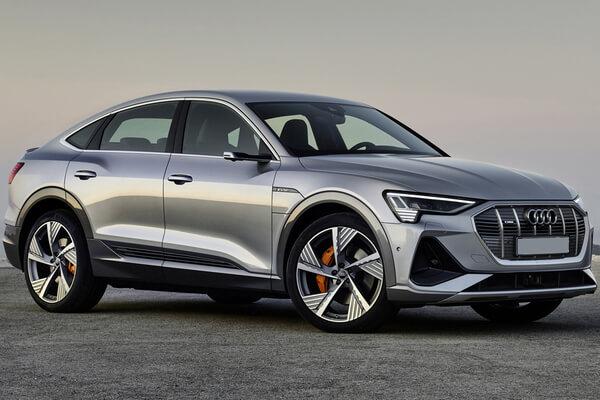 Audi e-tron Sportback wheels and tires specs icon