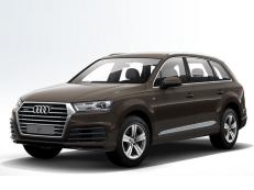 Audi Q7 Räder- und Reifenspezifikationensymbol