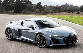 roues et icone de spécifications de pneus pour Audi R8