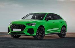 roues et icone de spécifications de pneus pour Audi RS Q3 Sportback