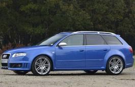 Audi RS4 Räder- und Reifenspezifikationensymbol