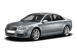 Audi S8 Räder- und Reifenspezifikationensymbol