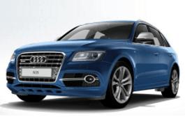 Audi SQ5 Räder- und Reifenspezifikationensymbol