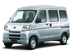 Subaru Sambar Van wheels and tires specs icon