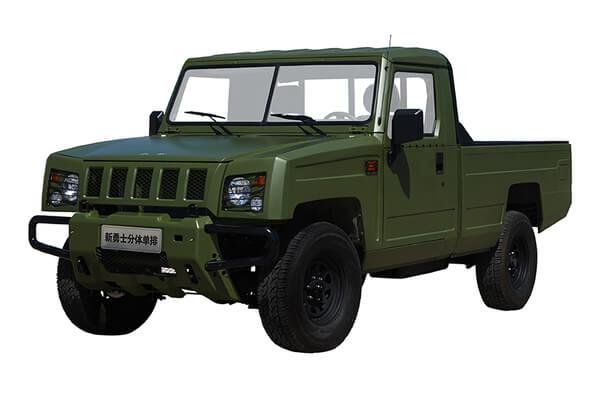 BAW Warrior Pickup Räder- und Reifenspezifikationensymbol