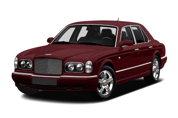 Bentley Arnage Räder- und Reifenspezifikationensymbol