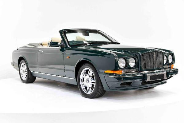 Bentley Azure Räder- und Reifenspezifikationensymbol