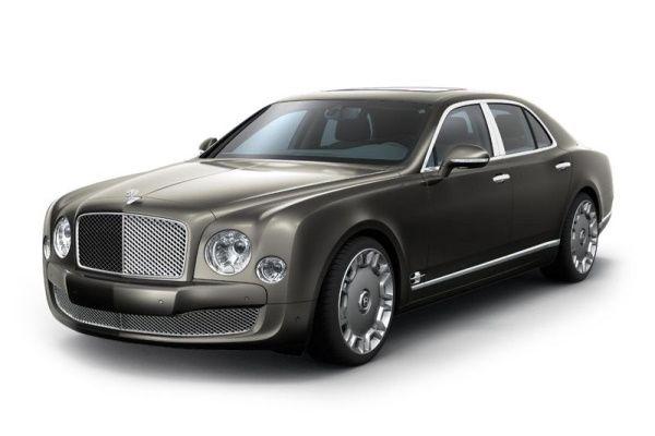 Bentley Mulsanne Räder- und Reifenspezifikationensymbol