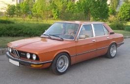 Автомобиль BMW 5 Series I (E12) , год выпуска 1972 - 1981