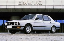 Автомобиль BMW 5 Series II (E28) , год выпуска 1981 - 1988