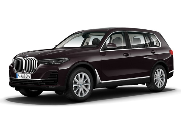 BMW X7 wheels and tires specs icon