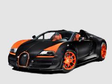 Bugatti EB16.4 Veyron wheels and tires specs icon