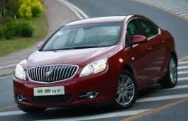 roues et icone de spécifications de pneus pour Buick Excelle GT