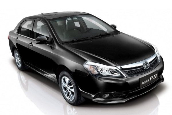 BYD F3 Facelift Saloon