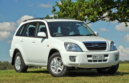 Chery J11 wheels and tires specs icon