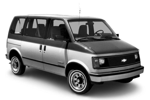 Chevrolet Astro wheels and tires specs icon
