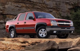 Chevrolet Avalanche 1500 wheels and tires specs icon