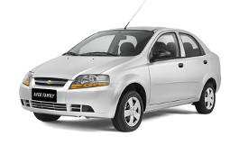 Chevrolet Aveo Family wheels and tires specs icon