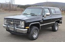 Chevrolet Blazer wheels and tires specs icon