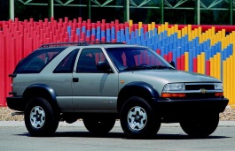 Chevrolet Blazer IV Restyling Closed Off-Road Vehicle