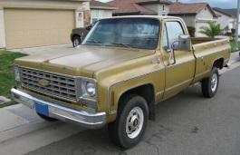 雪佛兰 C20 Pickup Regular Cab