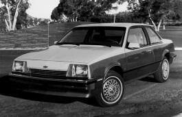 Chevrolet Cavalier I Coupe