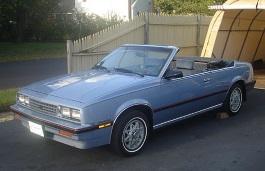 Chevrolet Cavalier I Facelift Cabrio